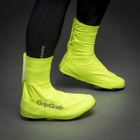 GripGrab Ride Waterproof Hi-Vis Shoe Covers fluo yellow